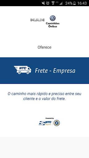 Frete Empresa NTC