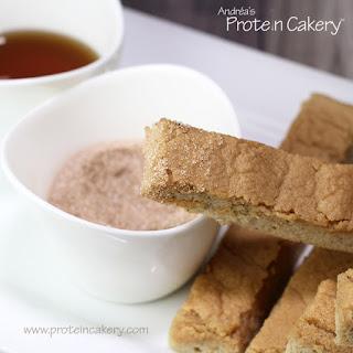Protein Pancake Sticks