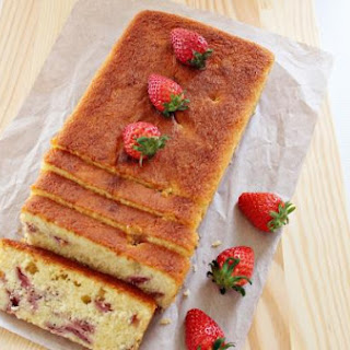 Lemon and Strawberry Loaf