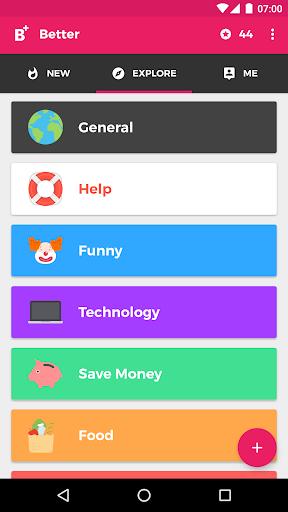 Better - Life Hacks & Tips screenshot 2