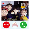 Call with Bts iDol - bts fake video call icon