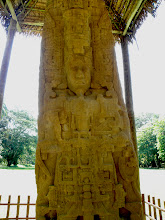 Photo: One of Quirigua's kings