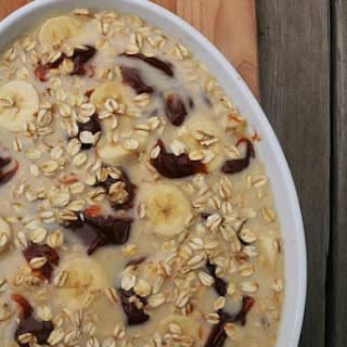 Dulce de Leche Oatmeal Bake