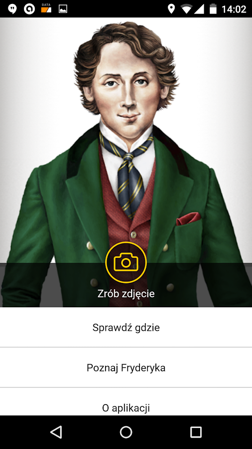 Selfie with Chopin – zrzut ekranu