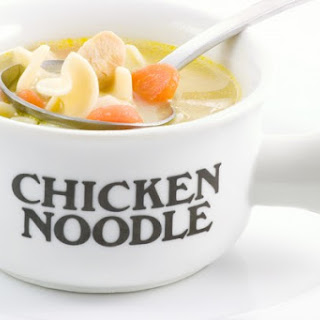 Comforting Homemade Chicken Soup.