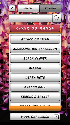 Manga Quiz - FR apktram screenshots 2