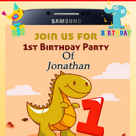 Birthday Invitation Card Maker V1 00 45