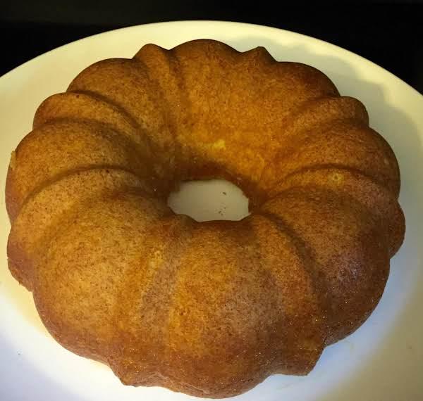 Mango Madness Bundt Cake