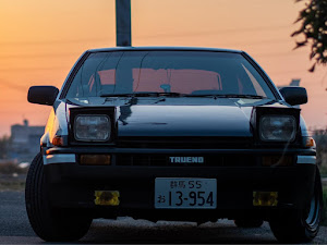 スプリンタートレノ AE86 S61•GT-APEXのカスタム事例画像 ささき ゆーまさんの2020年02月20日18:20の投稿