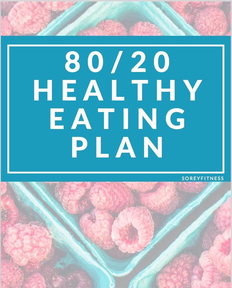 80 20 Healthy Eating Meal Plan