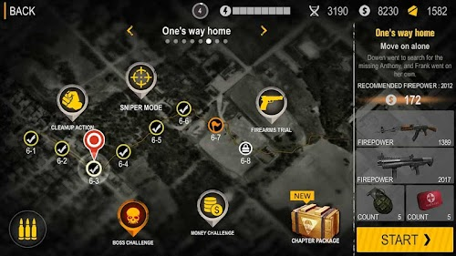 Screenshot 2 Death Invasion : Survival 1.0.39 APK MOD