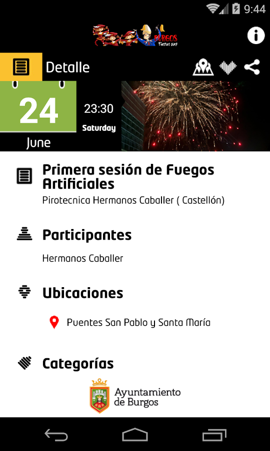 Fiestas Sampedros Burgos- screenshot