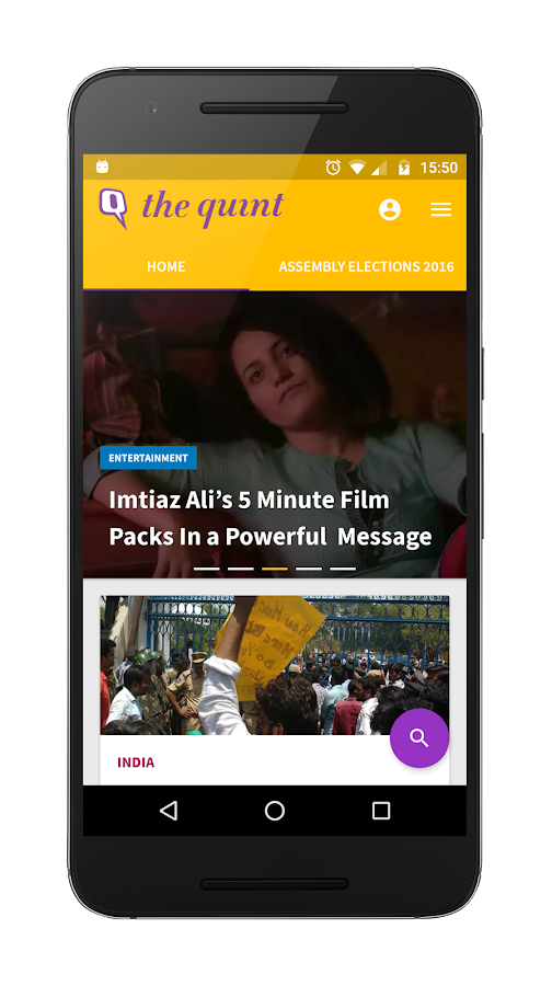 The Quint - News, Viral Videos- screenshot
