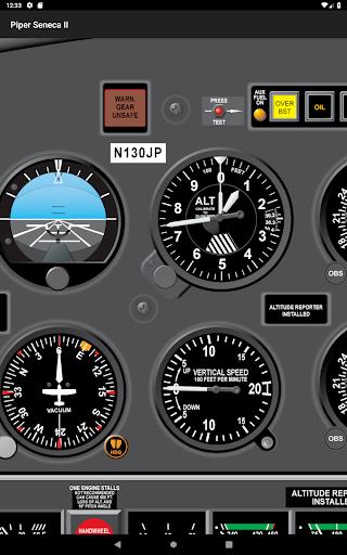 Download Piper Seneca II PA34 Pilot Training App MOD APK 10