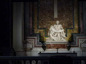 Photo: The Pieta' in St. Peters