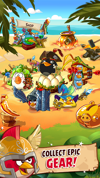 Angry Birds Epic RPG v2.0.25509.4120 [Mod Money]