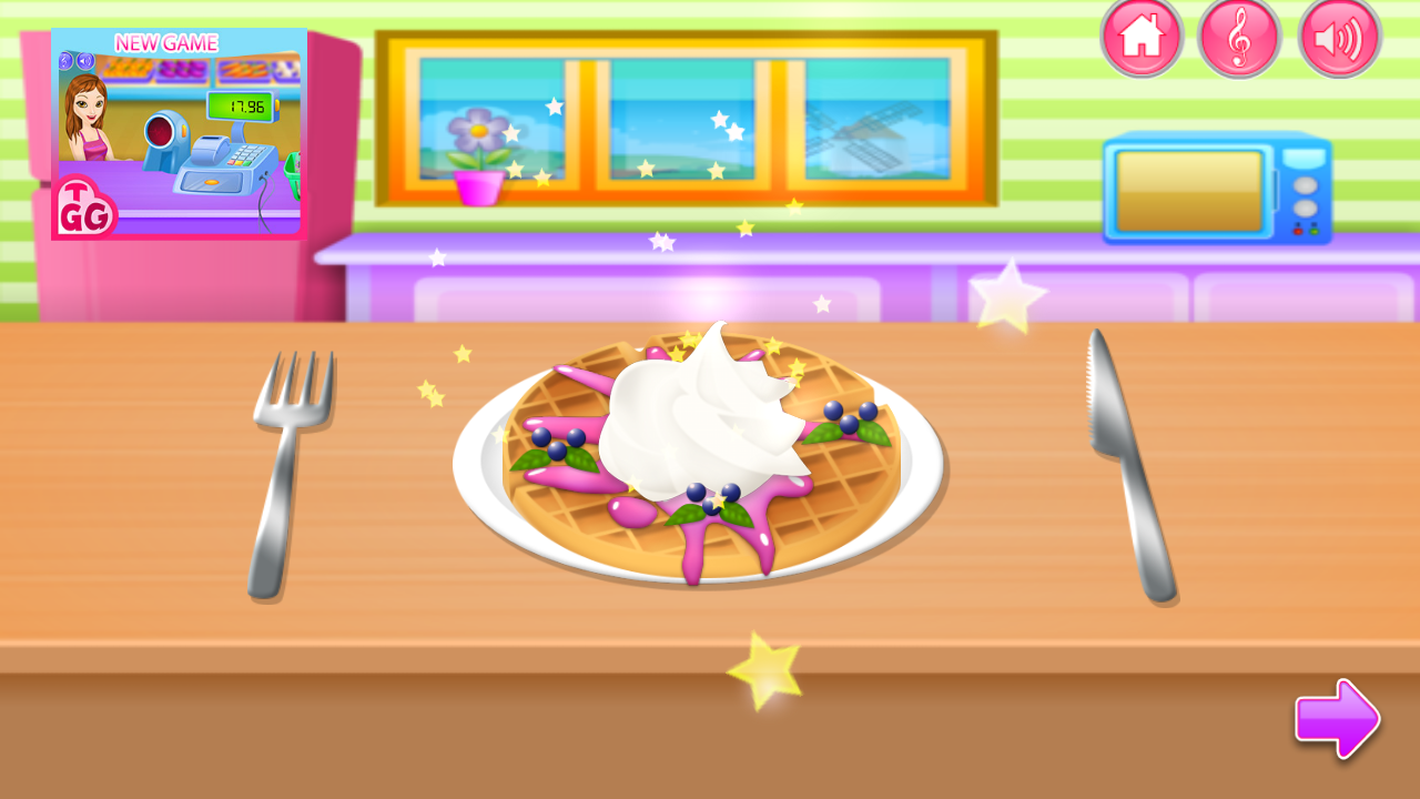 Game to cook - Cooking In The Kitchen Screenshot