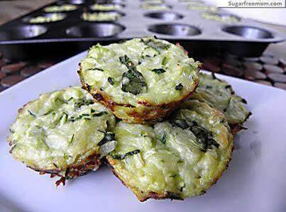 Mini Zucchini Cheese Bites Recipe
