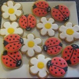 German Cut-Out Cookies.
