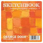 Sketchbook Orange Door IPA