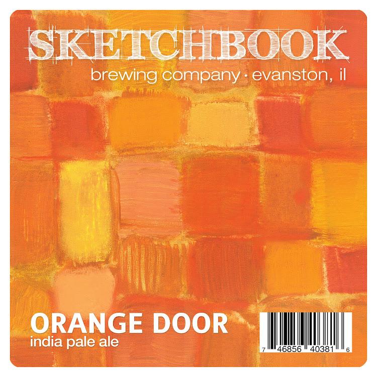 Logo of Sketchbook Orange Door IPA