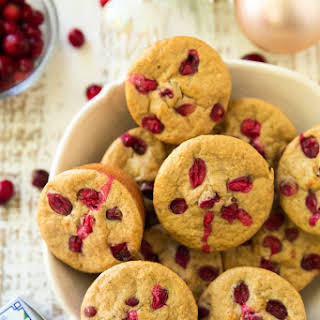 Cranberry Apple Muscle Muffins.