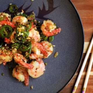 Cantonese Salt and Pepper Shrimp.