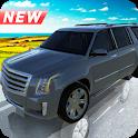 Escalade Cadillac Suv Off-Road Driving Simulator icon