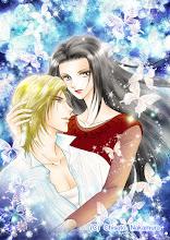 Photo: 「魔女が愛した王子」タイトルページ用イラスト