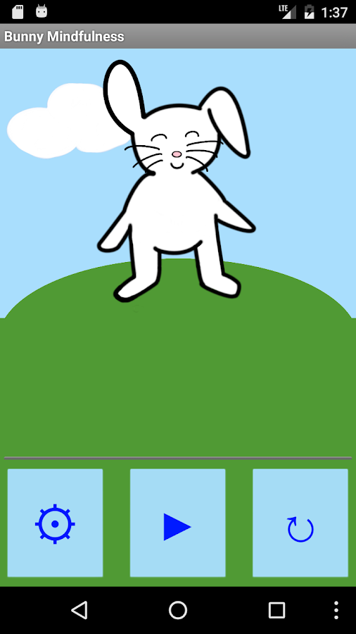 Bunny Mindfulness: Meditation For Kids of All Ages- screenshot