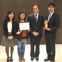 國際商務系學生游劉謙獲得「2016 AGC 旭硝子集團日本語簡報比賽」第一名佳績