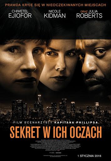 Polski plakat filmu 'Sekret W Ich Oczach'