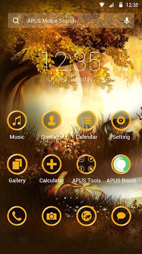 Fantastic scenery APUS theme