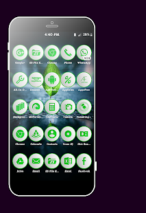 Lap Green Icons Pack Screenshot