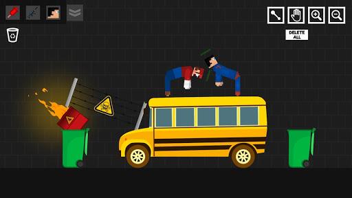 Super Hero Playground: Ragdoll Stick apktreat screenshots 1