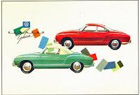 Karmann Ghia Coupe & Cab