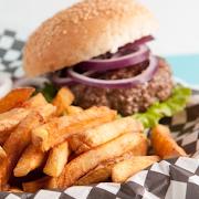 1/3 lb Steak Burger