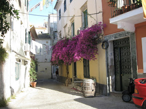 Photo: Side streets of old city Corfu