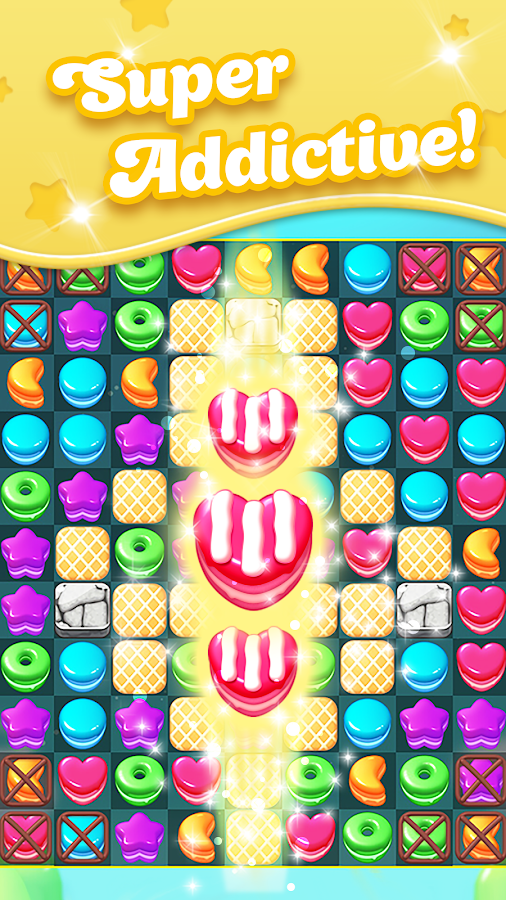 Fruit Candy Blast Match 3 Game: Sweet Cookie Mania- screenshot