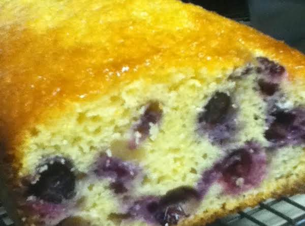Lemon & Blueberry Bread