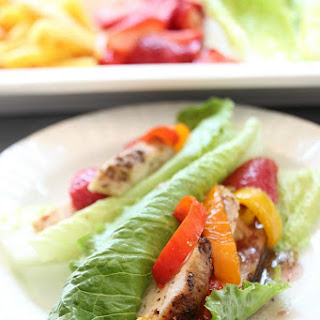 Grilled Chicken Lettuce Wraps – Sweet and Spicy.