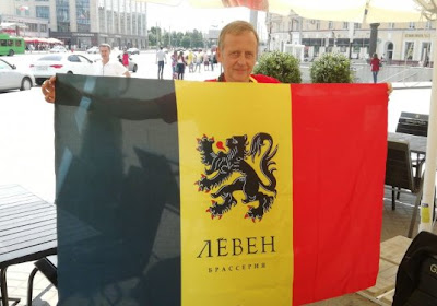Un... Leuven Bar à Kazan : les supporters belges ont trouvé leur QG