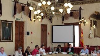 Reunión este martes del Consejo de Mayores.