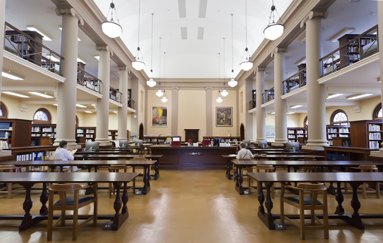 Before the fire: the Jagger Reading Room.