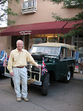 Photo: Louis Straney and his 1965 Land Rover