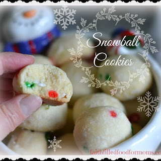 Easy Snowball Cookies
