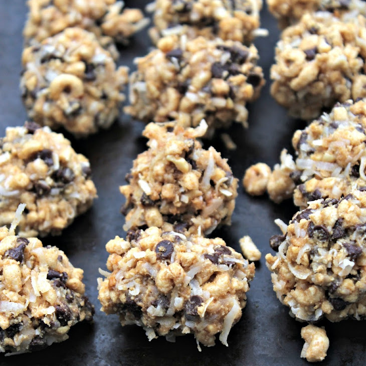 Honey-Nut Protein Bites - High Protein Snack Food for After School Recipe