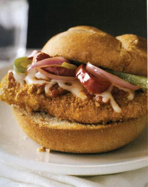 Hot Italian Chicken Sandwiches Recipe