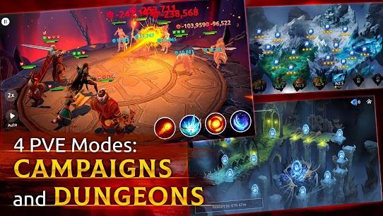 Age of Magic Mod Apk [GOD MODE + MENU MOD] 3