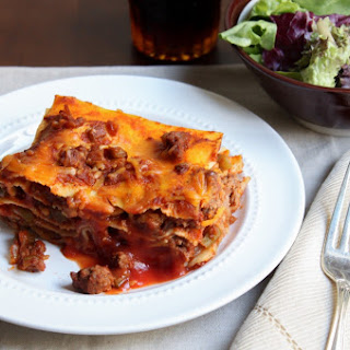 Sloppy Joe Lasagna